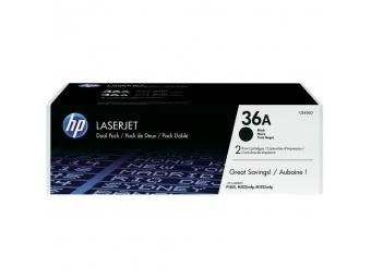 HP CB436AD Tonerová kazeta Black 36A, 2ks