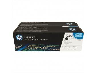 HP CB540AD Tonerová kazeta Black,125A, 2ks