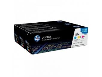 HP CF373AM Tonerová kazeta C,M,Y 125A, trojbalenie