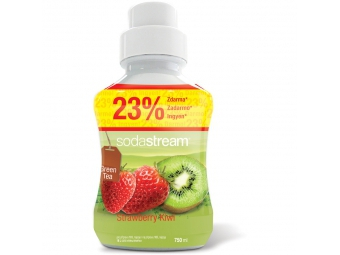 SodaStream sirup green ice tea kiwi / jahoda 750ml veľký