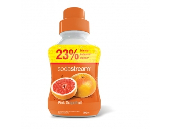 SodaStream sirup pink grapefruit 750ml veľký