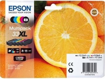 Epson T3357 Multipack 5 farieb Claria Premium, 33XL