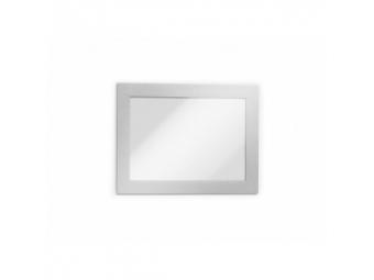 Durable Informač. panel A6 magnet. DURAFRAME MAGNETIC strieborný (bal=5ks)