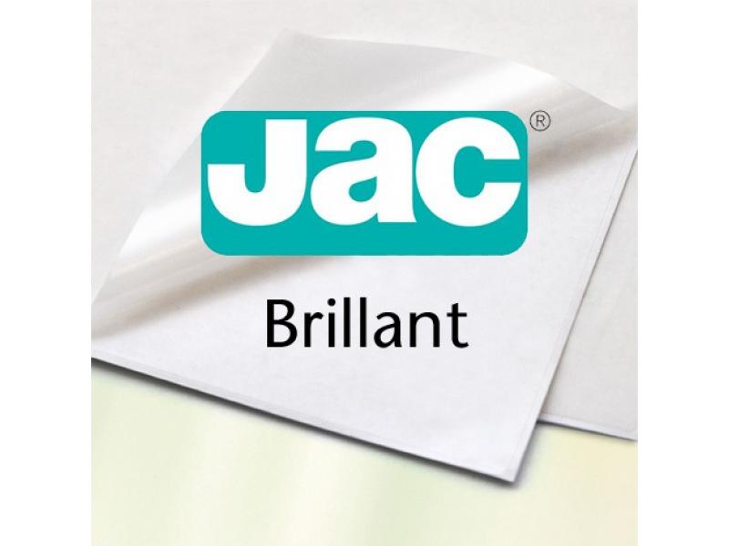 Etikety JAC Brilliant A3, biele, lesklé, split, interiérové (1/100 hár)