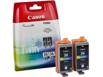 Canon CLI-36 Twin pack Atramentová náplň Color