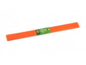 Krepový papier 50x200cm oranžový
