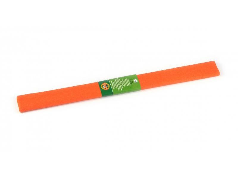 42f5cd6e3f Krepový papier 50x200cm oranžový