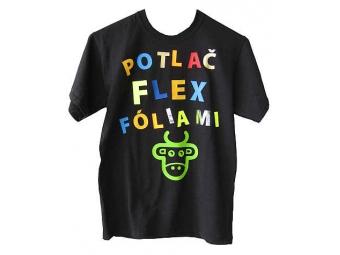 Nažehlenie Flex (textil prinesený zákazníkom)