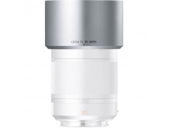 LEICA slnečná clona pre objektívy TL 35mm f/1.4 a 60mm f/2.8, strieborný elox