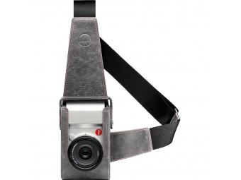 LEICA kožené púzdro pre Leica T (Typ 701), kamenná šedá
