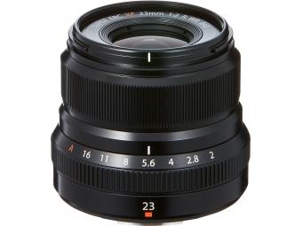 Fujifilm XF 23mm F2 R WR čierny