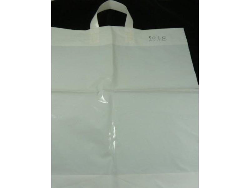 4cb9d99c09 Igelitová taška LDPE 440x460mm s pásovým uchom biela
