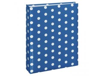 Hama 2215 album memo Puntiky blue 10x15/200, popisové štítky