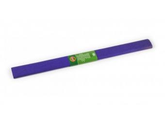 Krepový papier 50x200cm tmavo fialový