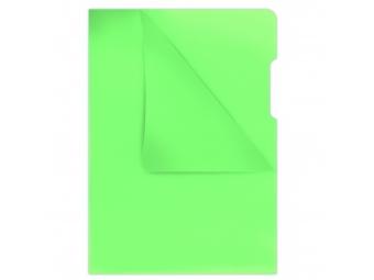 "Donau Obal A4 ""L"" na dokumenty 180mic zelený (bal=100ks)"