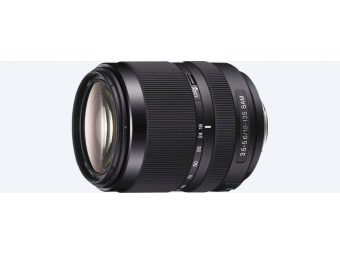 SONY SAL-18135 18–135mm teleobjektív F3,5–5,6 SAM so zoomom