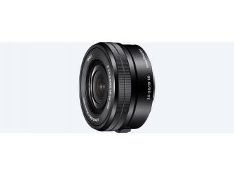 SONY SELP1650 E PZ 16–50mm F3,5–5,6 OSS (bajonet E, APS-C, optický stabilizátor, Power Zoom)