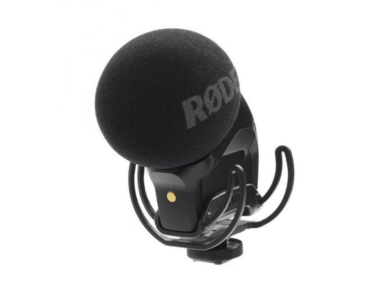 Rode Stereo VideoMic Pro Rycote - kompaktný stereo mikrofón pre DSLR/kamery, kondenzátor, Rycote odpruženie