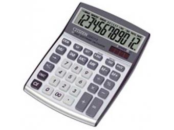 Citizen CPC-112 stolová kalkulačka biela
