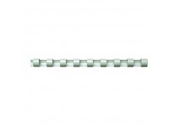 Plast.hrebeň 8mm/21-40l biely (bal=100ks)