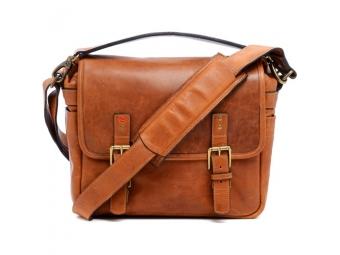 LEICA ONA system bag Berlin II, leather vintage bourbon