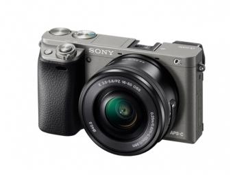 SONY ILCE-6000 Alfa 6000 grafitové + 16-50mm, bajonet E, APS-C snímač 24,3 MP