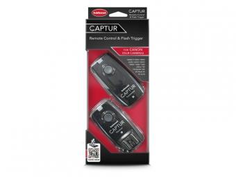 Hähnel CAPTUR Remote Canon - diaľková spúšť DSLR + diaľková spúšť blesku pre Canon