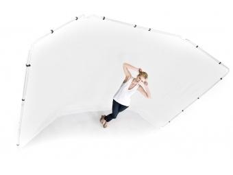 Lastolite Panoramic Background 4m White (LB7623)