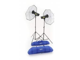 Lastolite Lumen8 Kit F400 + 2 Stands and 2 Umbrellas EU (LL3502RTEU)