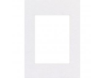 Hama 63206 Premium pasparta, arktická biela, 13x18 cm