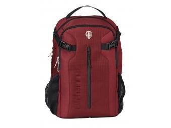 Hama 80031400 Ellehammer ruksak na notebook pre 15,6 Bergen, červený