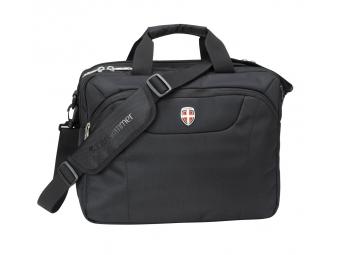Ellehammer Copenhagen Commuter, notebooková taška, čierna, 15,6