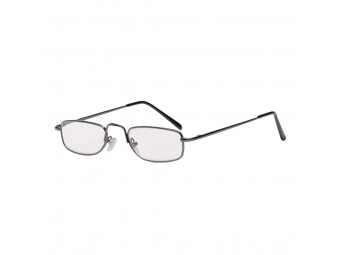Hama 96254 Filtral okuliare na čítanie, kovové, gun, +1,5 dpt