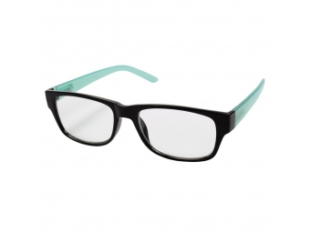 Hama 96263 Filtral okuliare na čítanie, plastové, čierne/tyrkysové, +2,0 dpt
