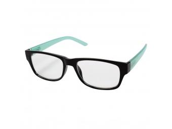 Hama 96264 Filtral okuliare na čítanie, plastové, čierne/tyrkysové, +2,5 dpt