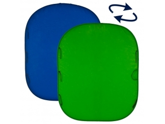 Lastolite Collapsible Reversible 1.5 x 1.8m Chromakey Blue/Green (LC5687)