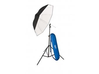 Lastolite 57000400 Umbrella Kit 99cm + Stand and 2402 Tilthead (LU2476F)