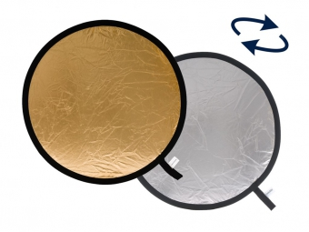 Lastolite Collapsible Reflector 75cm Silver/Gold (LR3034)