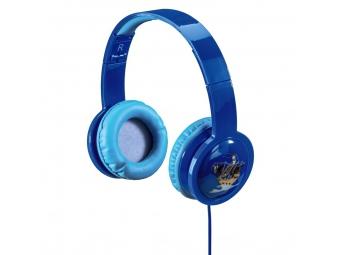 Hama 135663 detské slúchadlá Kids LED, uzavreté, modré
