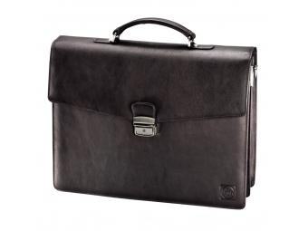 Hama 129253 Kožená 129253 taška na rameno 1923 Rafael Amsterdam, tmavohnedá