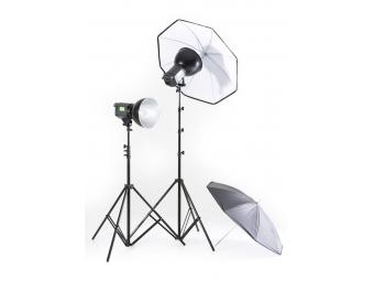 Lastolite RayD8 C3200 Kit + 2 Stands and 2 Umbrellas EU (LR8030EU)