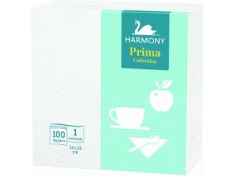 Harmony Obrúsky papierové Prima 33x33cm,1-vrstv. (bal=100ks)