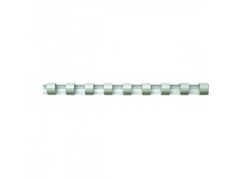 Plast.hrebeň 14mm/81-100l biely (bal=100ks)