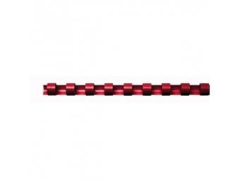 Plast.hrebeň 6mm/11-20l červený (bal=100ks)