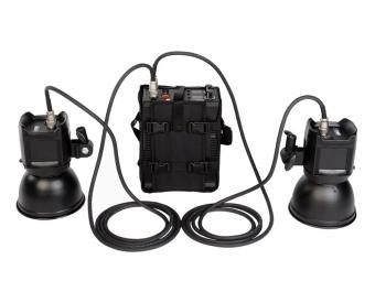 Fomei Panther Pro - 800, bat. generátor + 2 x zábl. hlava + 2 x reflektor