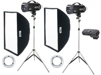 Fomei Digitalis 600/600, kit štúdiových bleskov