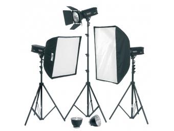 Fomei Digitalis 600/600/400, kit štúdiových bleskov