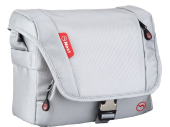 Nest taška Athena 10, silver white