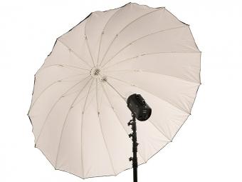 Terronic štúdiový dáždnik BW-185 / čierny-biely 185 cm