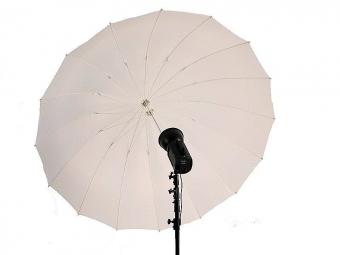 Terronic štúdiový dáždnik T-185 / translucentný 185 cm
